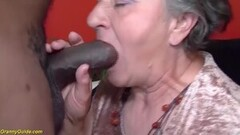 Hot first interracial for 82 years old randma Thumb