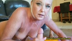Naughty Punky pierced granny loves to suck and fuck young cock! Thumb