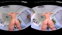 Steamy Busty blonde teen teasing in exclusive StasyQ VR video Thumb