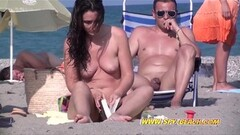 Steamy Amateurs Beach Females Nudist Voyeur Spy Video Thumb