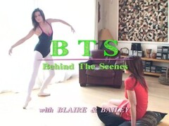 Blaire Daniels and Bailey Behind the Scenes Thumb