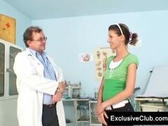 Angela gyno vagina exam with speculum Thumb