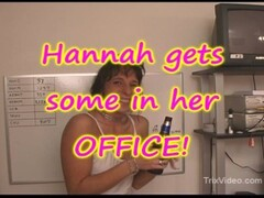 MILF goes WILD at her OFFICE Hand Job PARTY Thumb