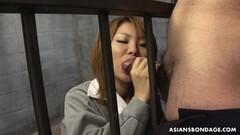 Rio Haruna is eagerly sucking dick Thumb