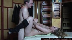 Real Dutch hooker nailed after giving a BJ Thumb