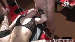 German mother small tits creampie gangbang Thumb