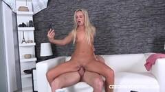 Kinky Vanessa Takes Big Cock With Panties On Thumb