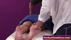 Oiley Pamela Morrison stuffed with a big cock Thumb