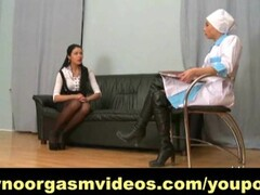 Sexy Moldovan Karina Grand FFM threesome Thumb