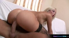 Horny Ania revealing her delectable petite body for Denis Thumb