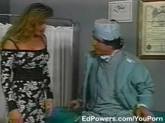 Lewd Doctor checks patients tight asshole Thumb
