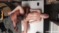 Kinky Kylie Martin blows off horny security guard Thumb