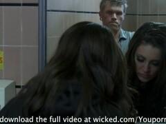 Schoolgirl Gracie Glam Gets NAILED in Bathroom Thumb