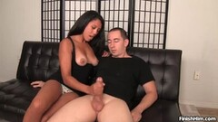 Hot Babe Loves Milking Her Man Dry Thumb