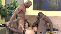 Sexy Ally Style Anal And Double Penetration With Black Dick Thumb