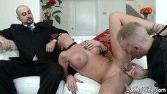 Sexy wife fucks in front of husband Thumb