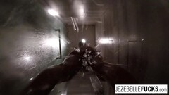 Hot Jezebelle Bond Steamy Hot Shower Thumb