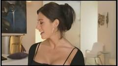 Lesbian boss spanks co worker in stall Thumb