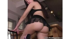 Brunette Babe Fucks in Private Sex Tape Thumb