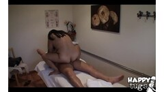 busty MILF peeing femdom satin stockings Thumb