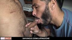 Horny Tattooed Latin Gets Extra Money To Ride Strangers Cock Thumb
