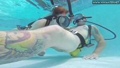 Minnie Manga takes dick in the pool Thumb
