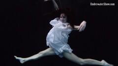 Frisky Mega Hot Underwater Erotics with Andrejka Thumb