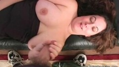 hOT Looking BBW Amateur Jerking Off Thumb