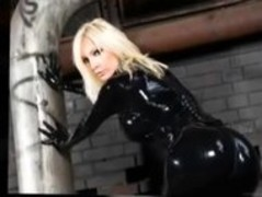 Susan Wayland in Black Latex Thumb