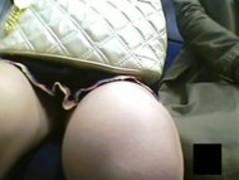 Spycam Lesbian Train Grope Thumb