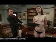 Master James Deen submitted two babes and whipped Thumb