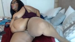 Huge belly BBW with fat wet pussy for your pleasure Thumb