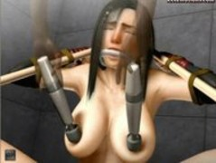 Tied up animated babe gets drilled Thumb