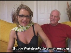 Older Babe Watched By Hubby Thumb