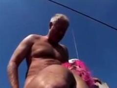 Fat lifeguard gets fucked on boat Thumb