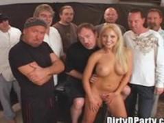 Jasmine Tame's Tampa Bukake Gangbang Party With DirtyD Thumb