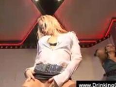 Lesbo orgy in an european club Thumb