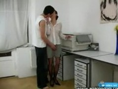 Office sex with shy girl Thumb