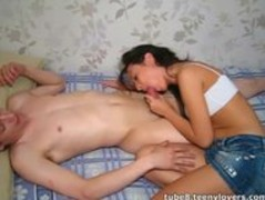 Her first threesome Thumb