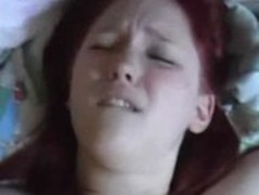 Chubby red head get creampied Thumb