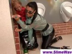 Two classy ladies at a gloryhole Thumb