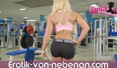 german fitness blonde teen public anal pov in solarium Thumb