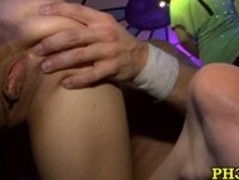 Tons of Blonde ladies sucking dicks Thumb