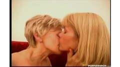 Gorgeous natural brunettes stripteasing for Playboy Thumb