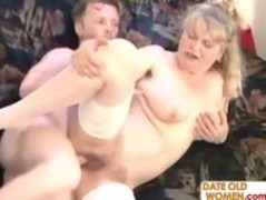 Mature Julia gets banged hard by younger boy Thumb