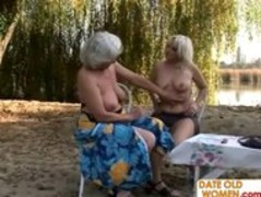 Old blondes open area lesbian sex Thumb