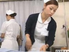 Japanese nurse practices her handjob technique Thumb