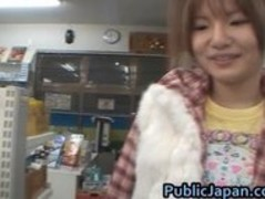 Miku Tanaka Hot Asian doll likes public part5 Thumb