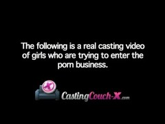 CastingCouch-X Casting Real Amateur Free Spirited College Student Thumb
