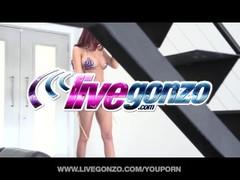 LiveGonzo Amy Ried Blowjob Babe Thumb
